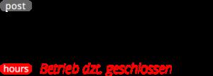 Kontakt-Postadresse